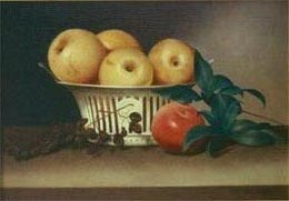 renaissance paintings - a still life after peale